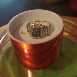 Jewelry - 925 white&blue diamonds 1ctw